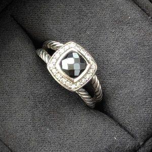 David Yurman Petite Albion Onyx Ring
